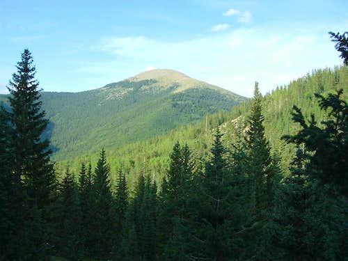 Santa Fe Baldy from Nambe Lake Trail