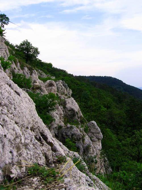 Budai-hegység / Climbing area