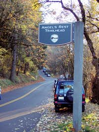 Angel s Rest Parking