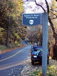 Angel's Rest Parking