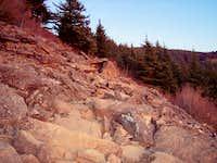 Angel's Rest Upper Rockfall Area