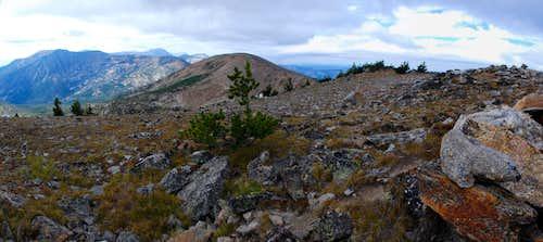 Lolo Peak's Summits