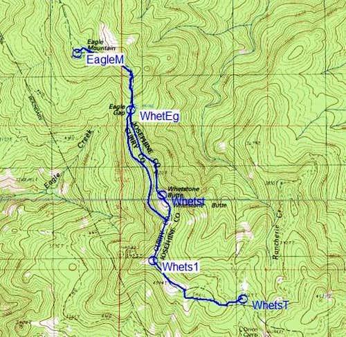 Kalmiopsis Rim Trail South