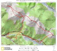 The Alphabetizer GPS track