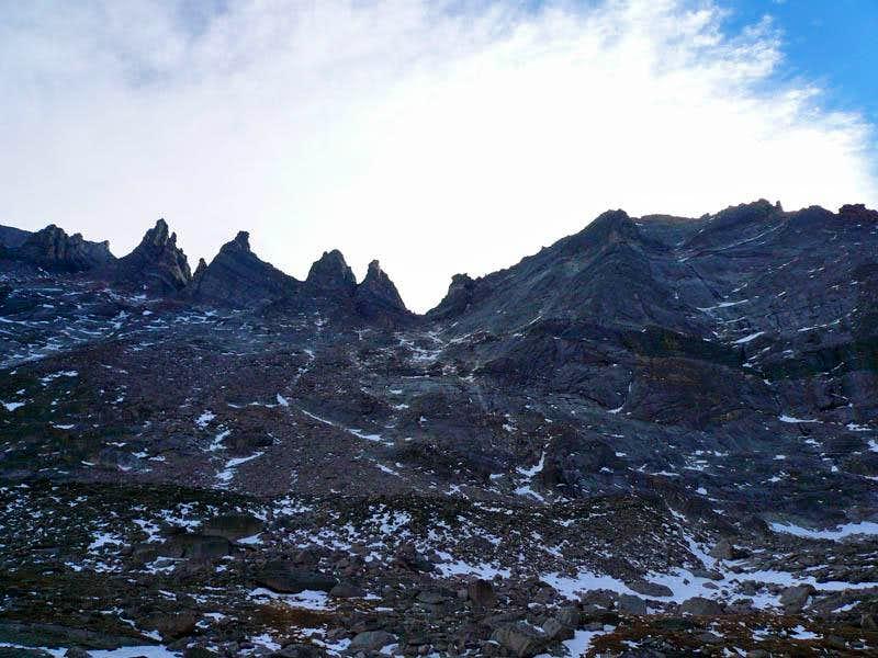 Pagoda Mountain Gully