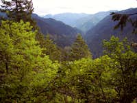 Eagle Creek Drainage from Ruckel Ridge