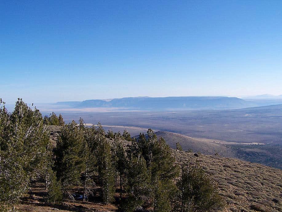Hart Mountain seen from Drake Peak summit