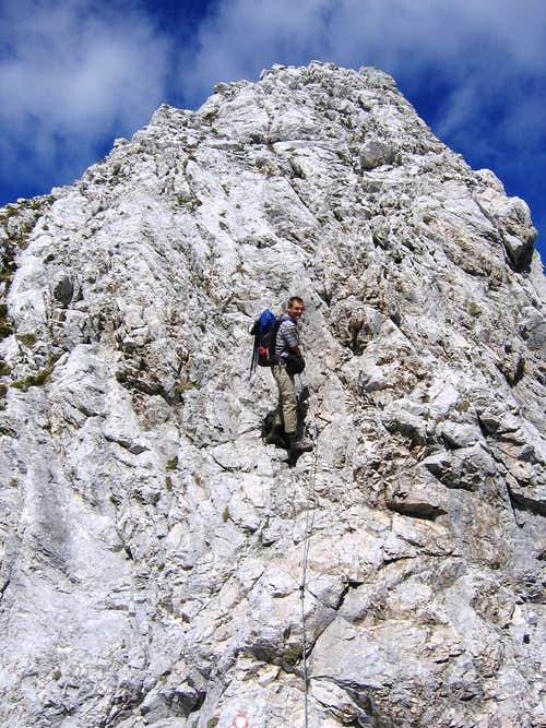 Lipnica south ridge ferrata