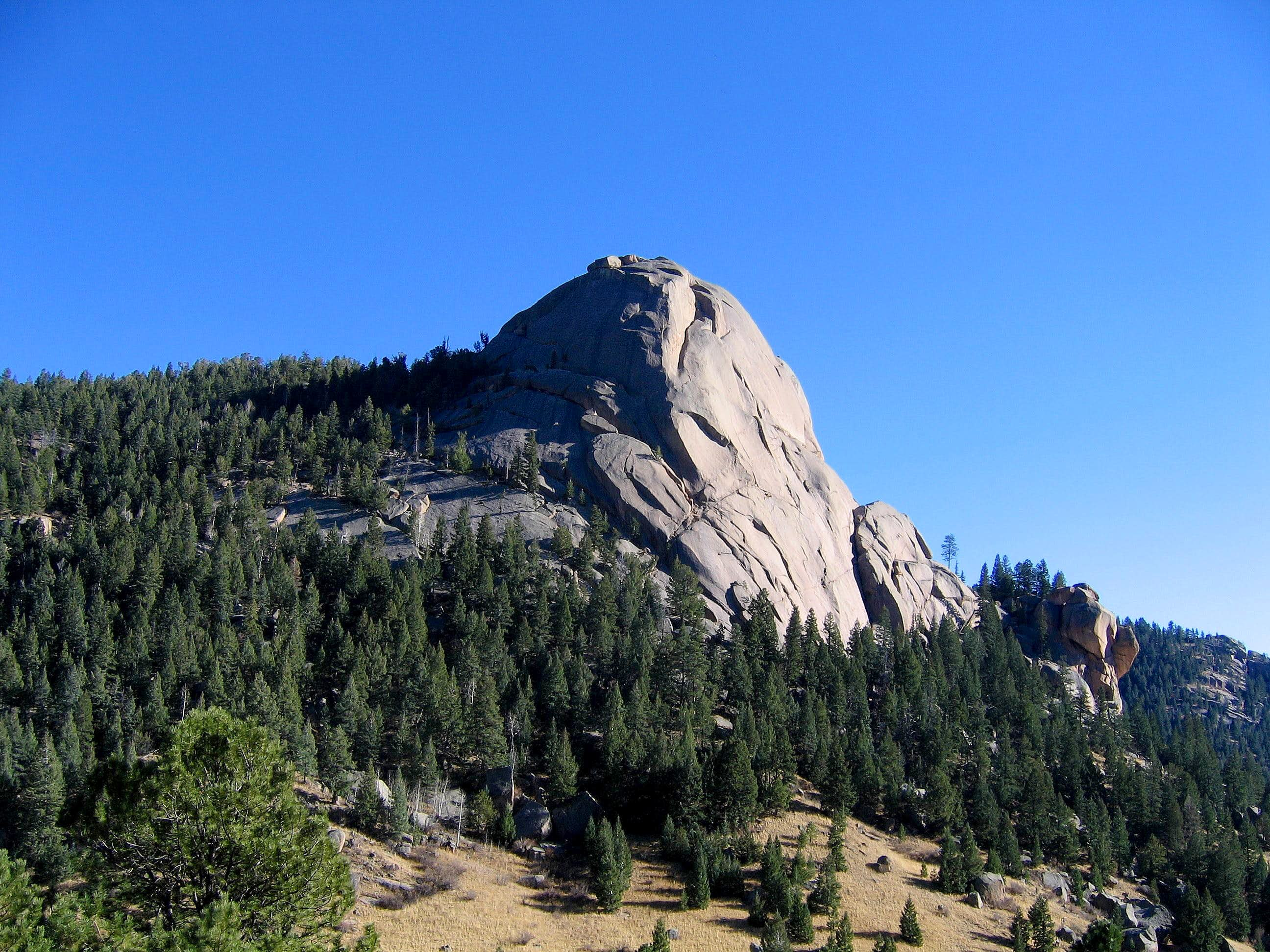 Dome Rock & Point 9112: A Mini-Yosemite in Colorado