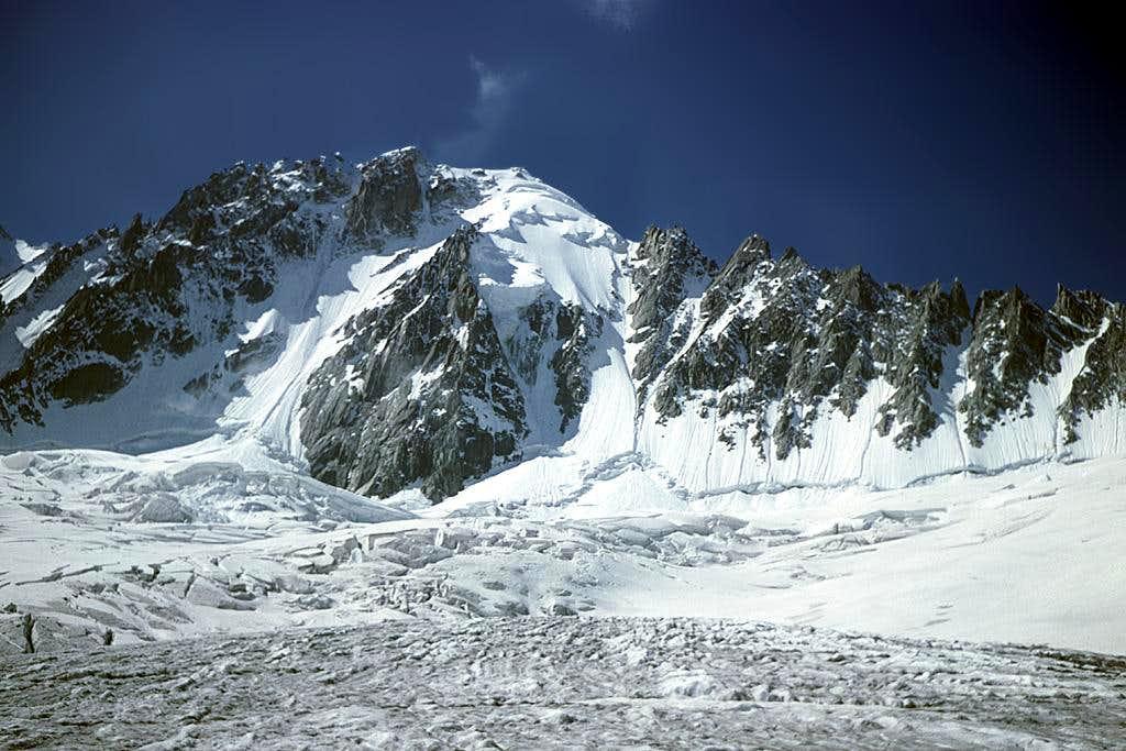 from glacier d' Argentiére