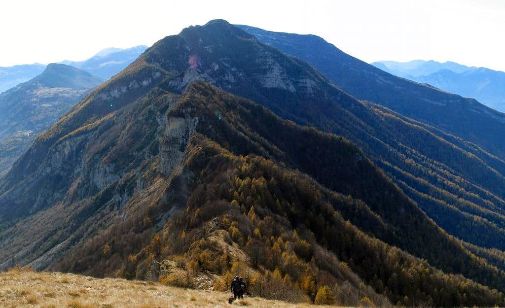 Monte Bondone range