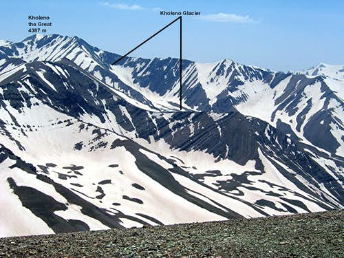 Kholeno Glacier