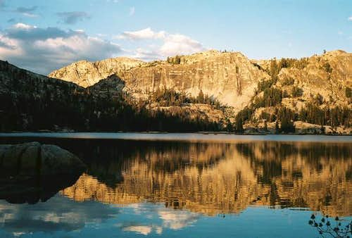 Smedberg Lake in Yosemite