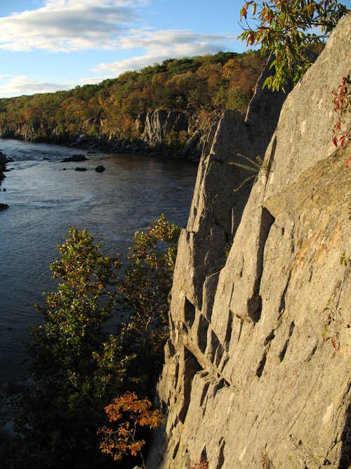 Rocky Islands Crags and Mather Gorge