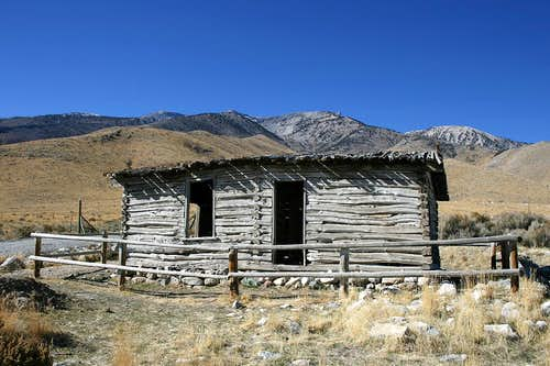 The historic Bressman cabin in Ruby Valley