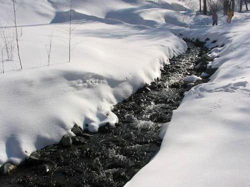 winter in Zoshk