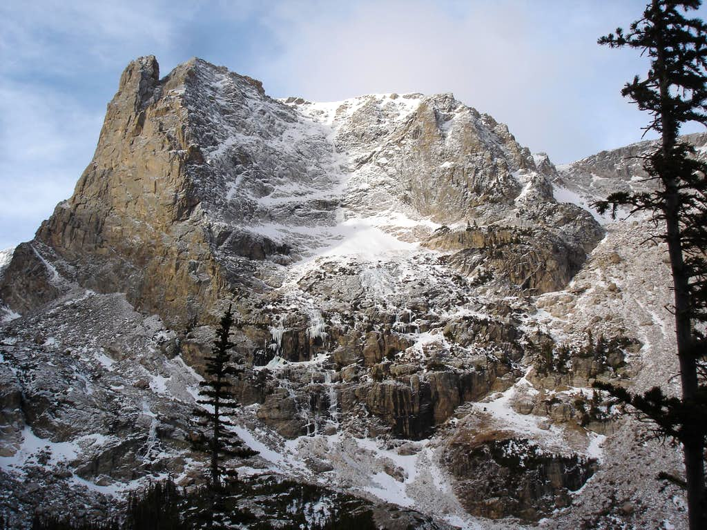 Notchtop Mountain's East Face