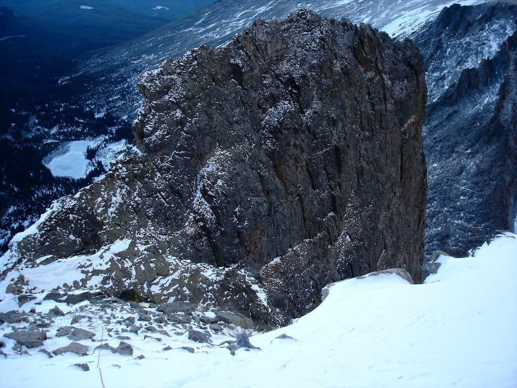 Notchtop spire summit
