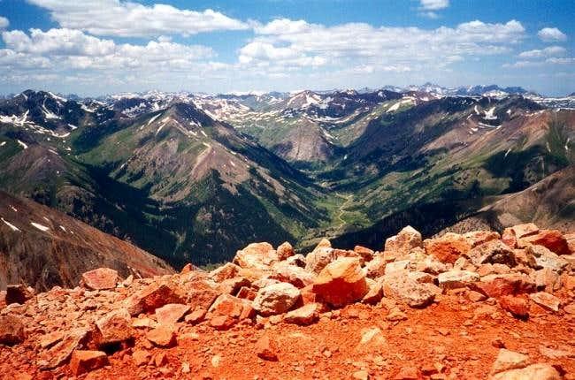 July 14, 1998 Handies Peak...