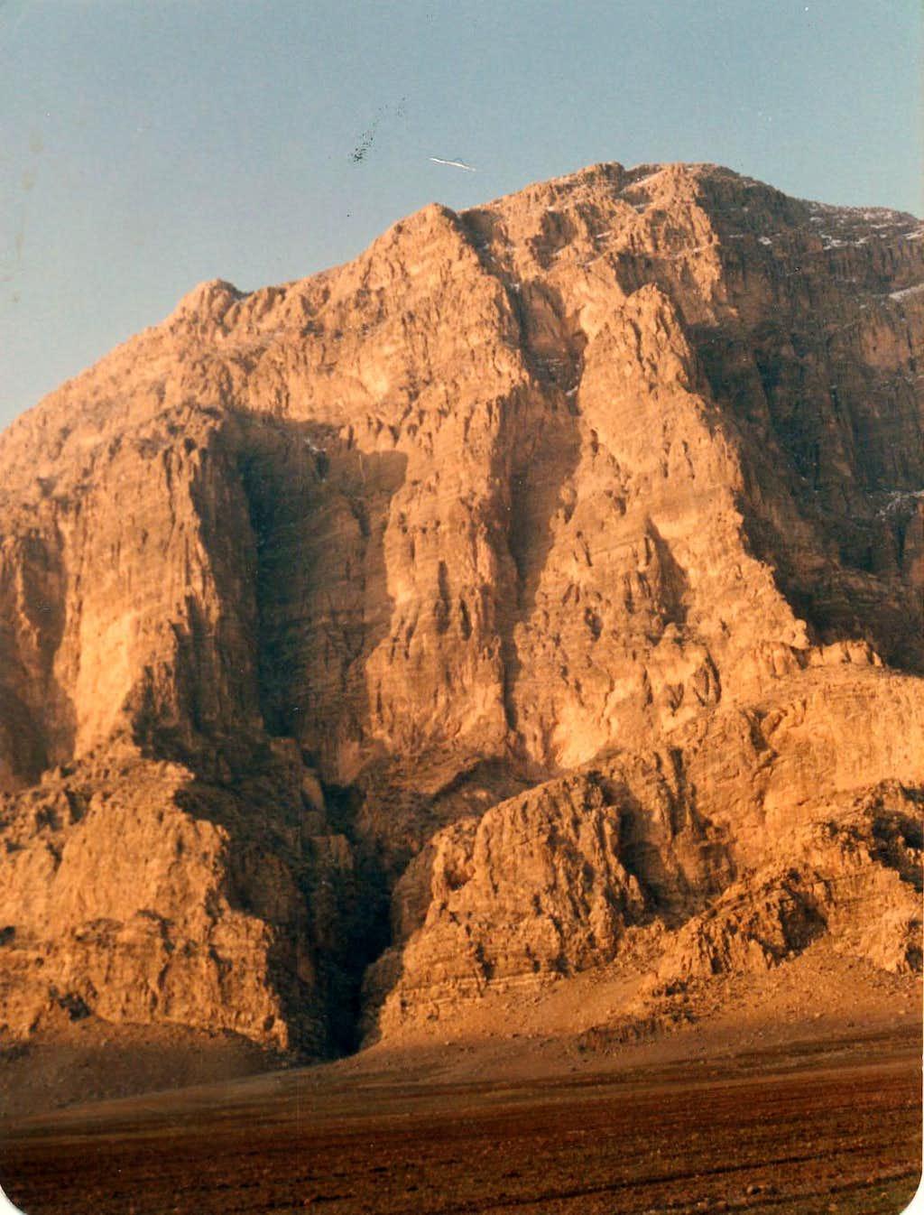 Mount Yafteh , BigWall 1300m