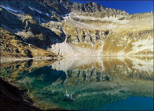 Camposecco lake (2325 m)