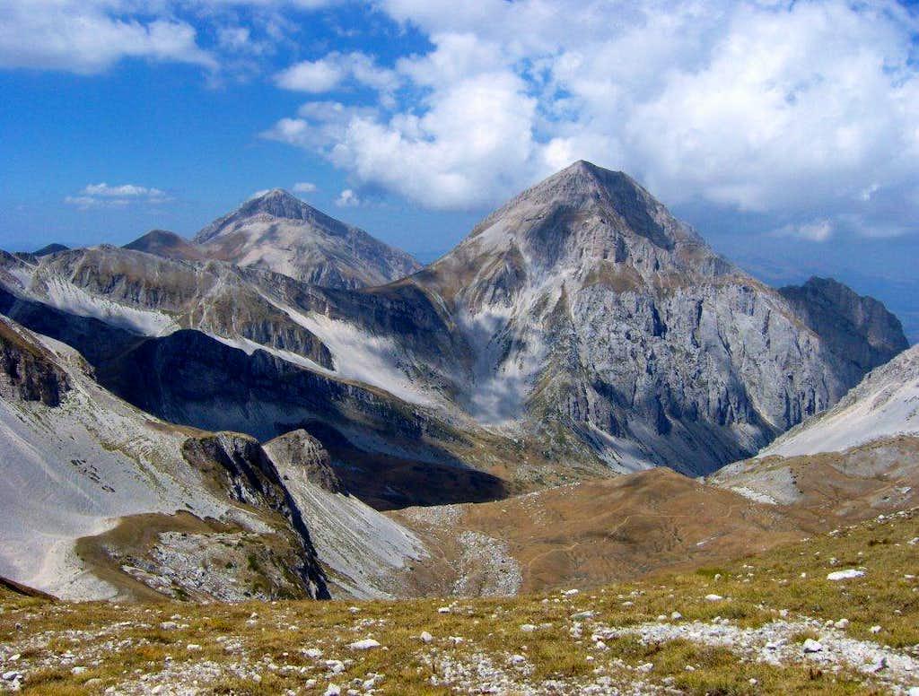 Summits of Abruzzo.