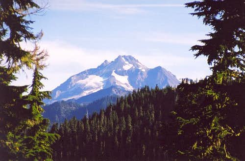 Glacier Peak from just west...