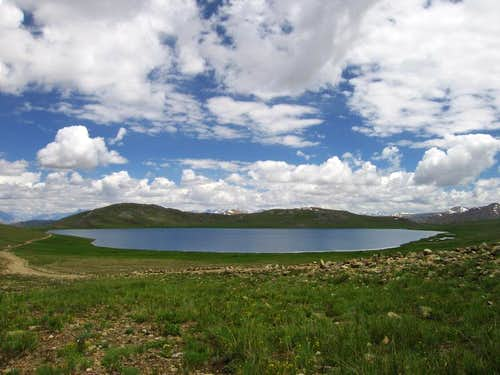 Deosai Plains, Sosar Lake