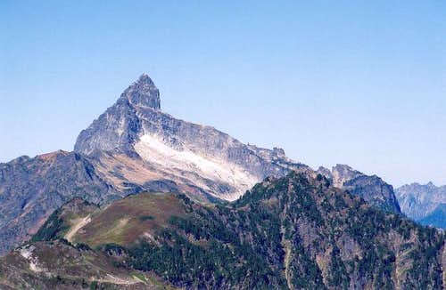 Sloan Peak from the south...