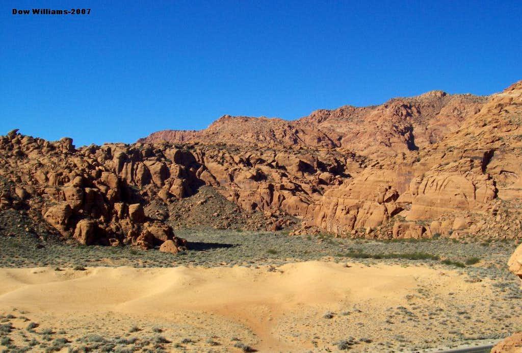 Sand Dunes Area, 5.5-5.11b