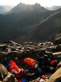 Bivy at 4700m