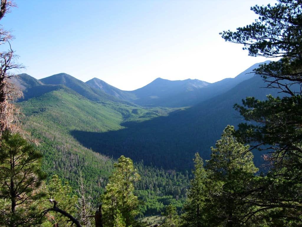 The Peaks from Sugarloaf