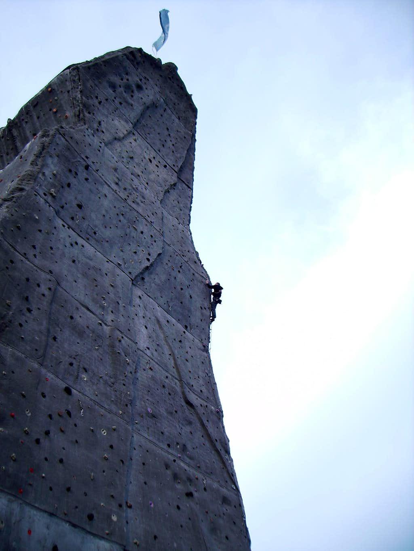 Climbing the 'Monte Cervino'