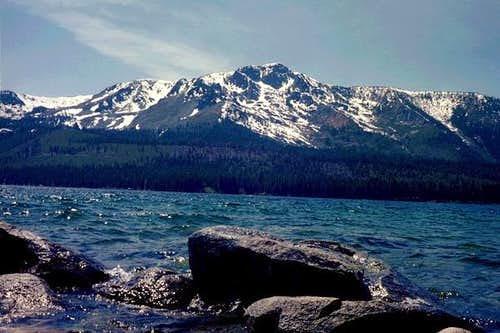 Fallen Leaf Lake and Mount Tallac in Tahoe