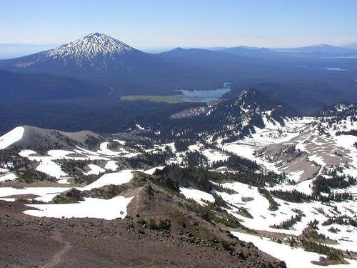 Mt. Bachelor seen from the...