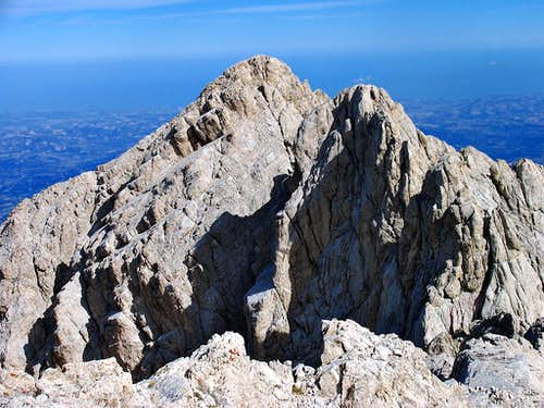 Corno Grande Eastern and Central summits