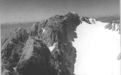 Calderone Glacier in 1958