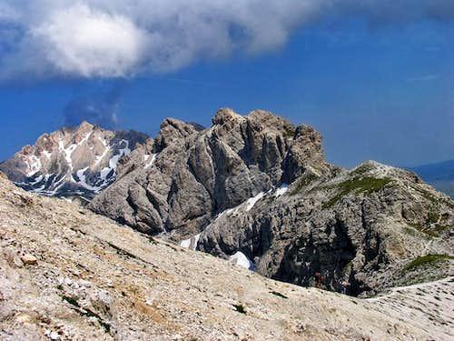 Torri di Casanova and Monte Prena