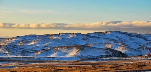 Campo Imperatore hills