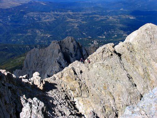 Corno Grande north ridge