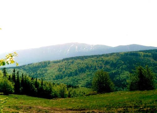 Beskid Zywiecki-Polish mountains