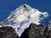 Dent d'Herens Normal Route