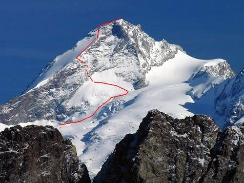 Dent d\'Herens Normal Route