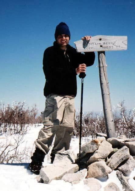 The Summit of Capitan Peak