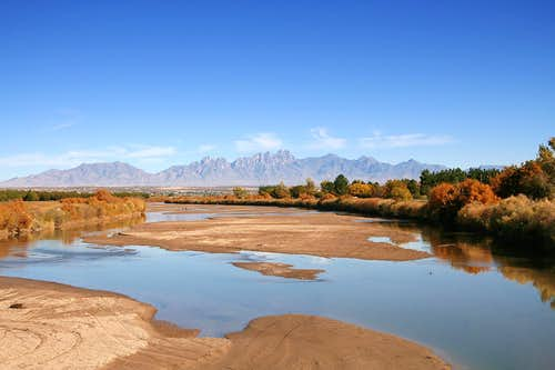 Rio Grande and Organ Mountains