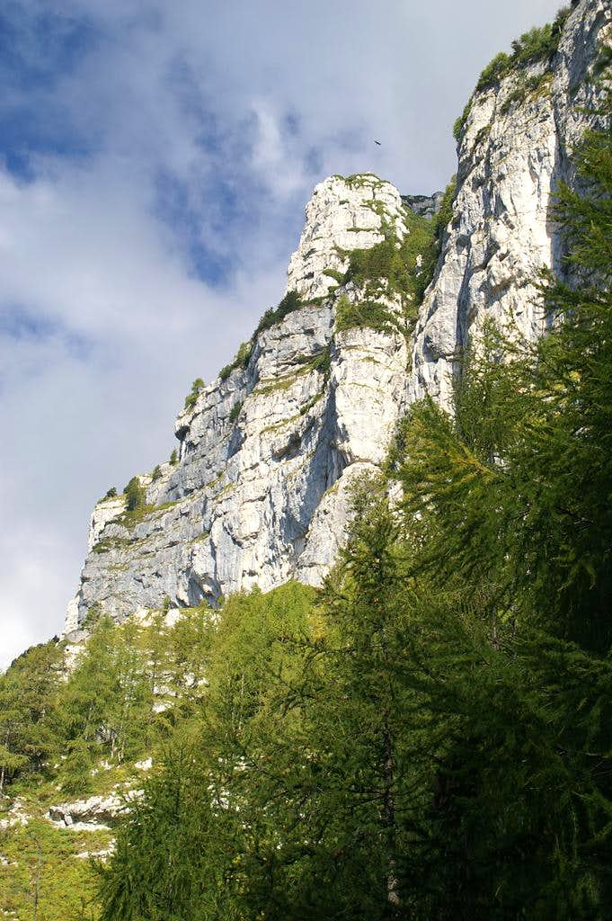 Pizzo Viene South Buttress