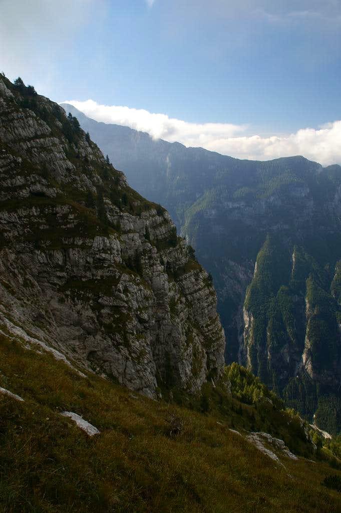 Monte Cimone alternate normal route