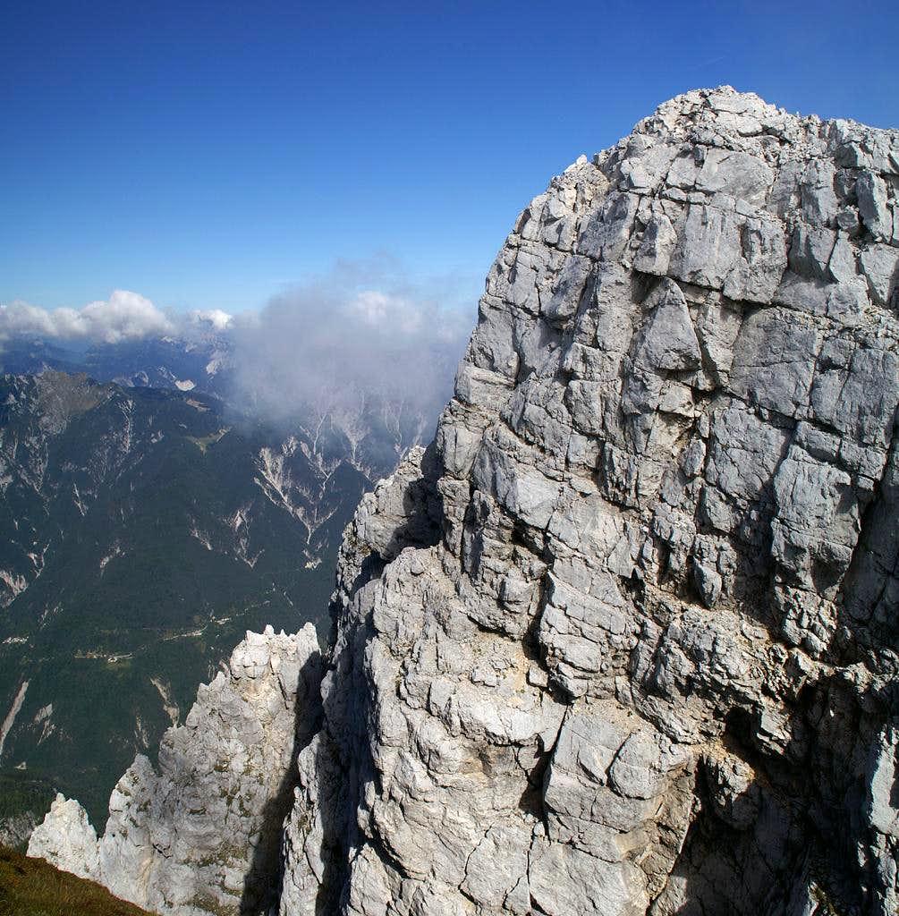 Monte Cimone fore summit