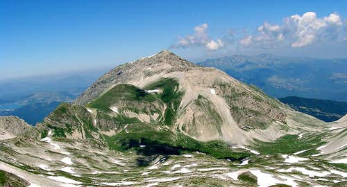 Monte Corvo from south