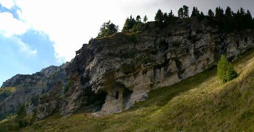 Hollow rocks